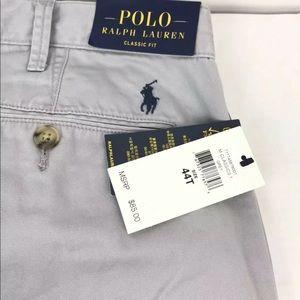 NWT Polo Ralph Lauren Mens Shorts Gray Size 44T